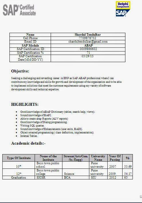 curriculum vitae em branco download Sample Template Example - resume format for freshers download