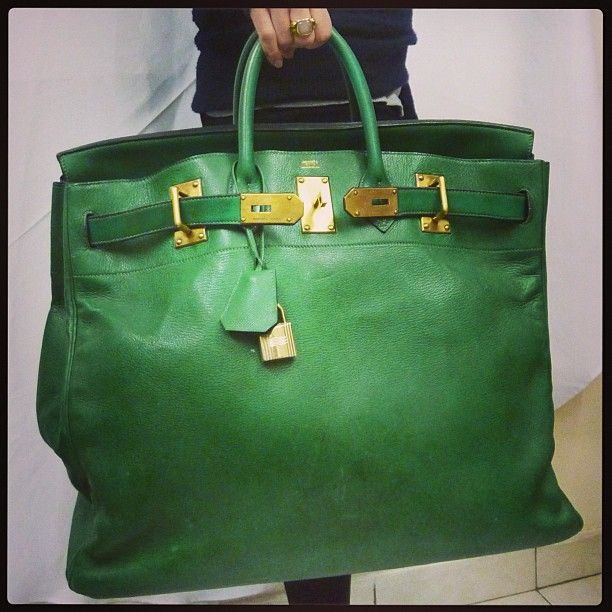 When #hermes make Green #hac i love it ! And you ? # ...