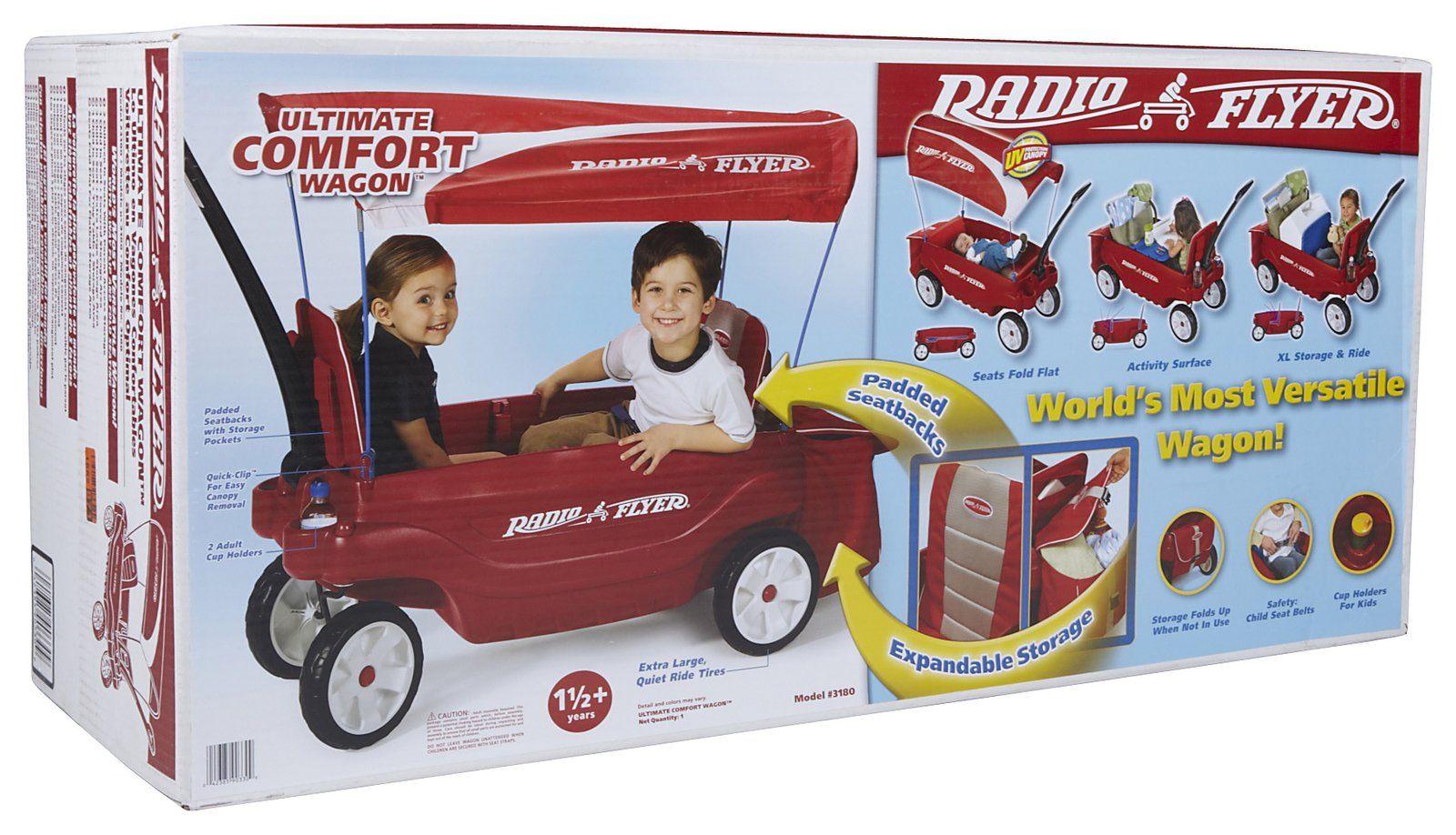 Radio Flyer Ultimate Comfort Wagon Best Price Baby Accesories Radio Flyer Baby Accessories