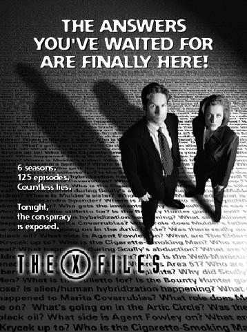 A l'approche des nouveaux épisodes de The X Files, j'ai voulu écrire un lettre à Fox Mulder! Ça donne ça!