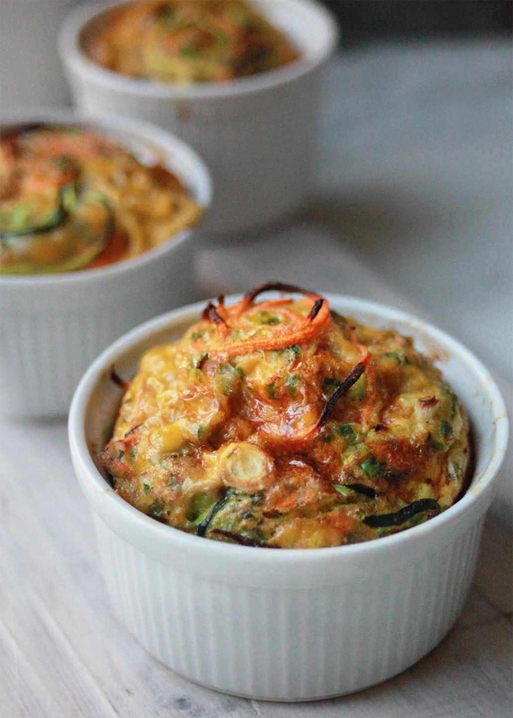 how to make vegetable souffle