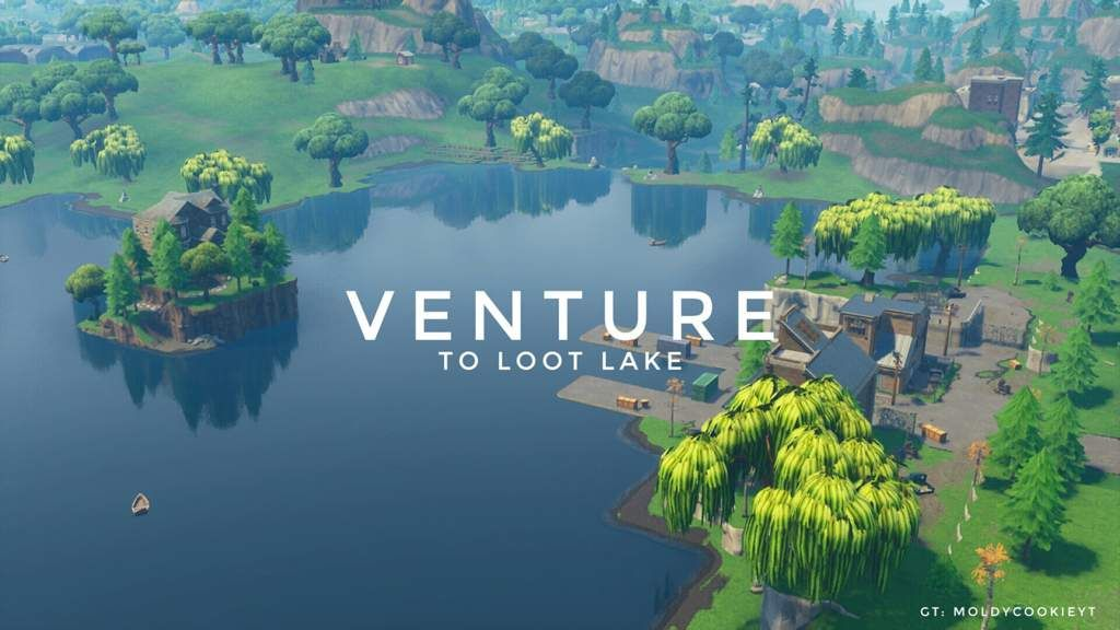 Venture To Loot Lake Fortnite Battle Royale Armory Amino Cute