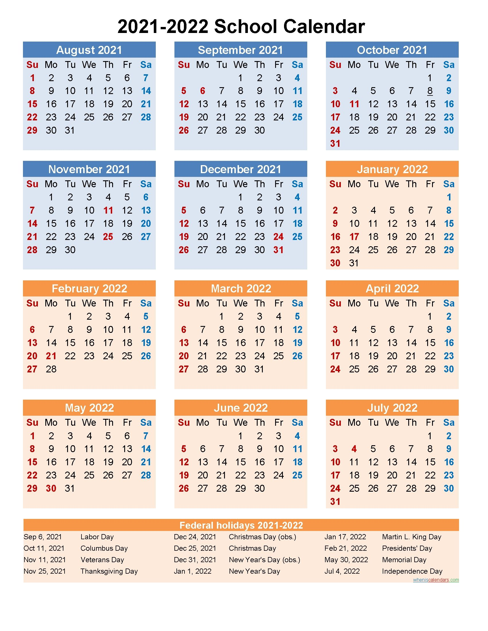 Best Week At A Glance Printable 2021 Template In 2021 Calendar Template School Calendar Editable Calendar