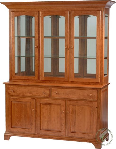 With Two Drawers, Two Buffet Cabinets And A Mirror Back Display Hutch, Our  Springwood