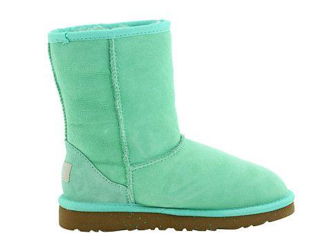 UGG 5251 Light Green Classic Short Boots Kids $79.35