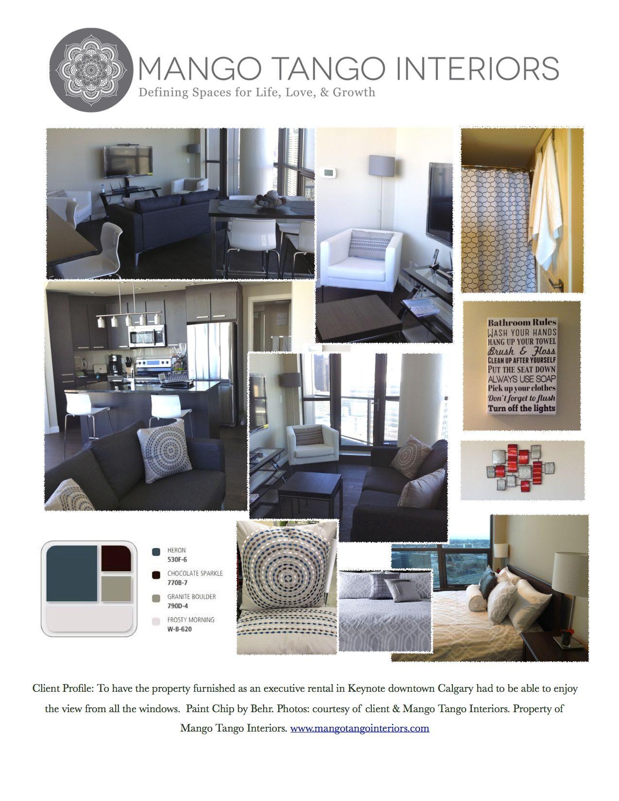 Furnished Condo yyc keynote downtown IKEA Canada