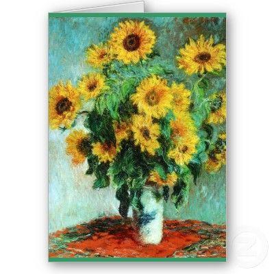 'Sunflowers'....Claude Monet