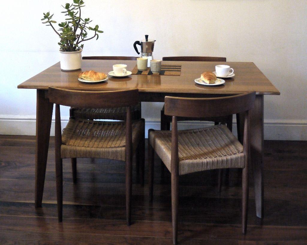 Hallway furniture gumtree  Vintage Danish Arne Hovmand Olsen Dining Chairs Mogens Kold  Dining