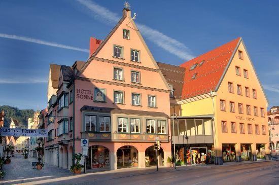 Hotel Sonne Europe Destinations Romantic Road Fussen