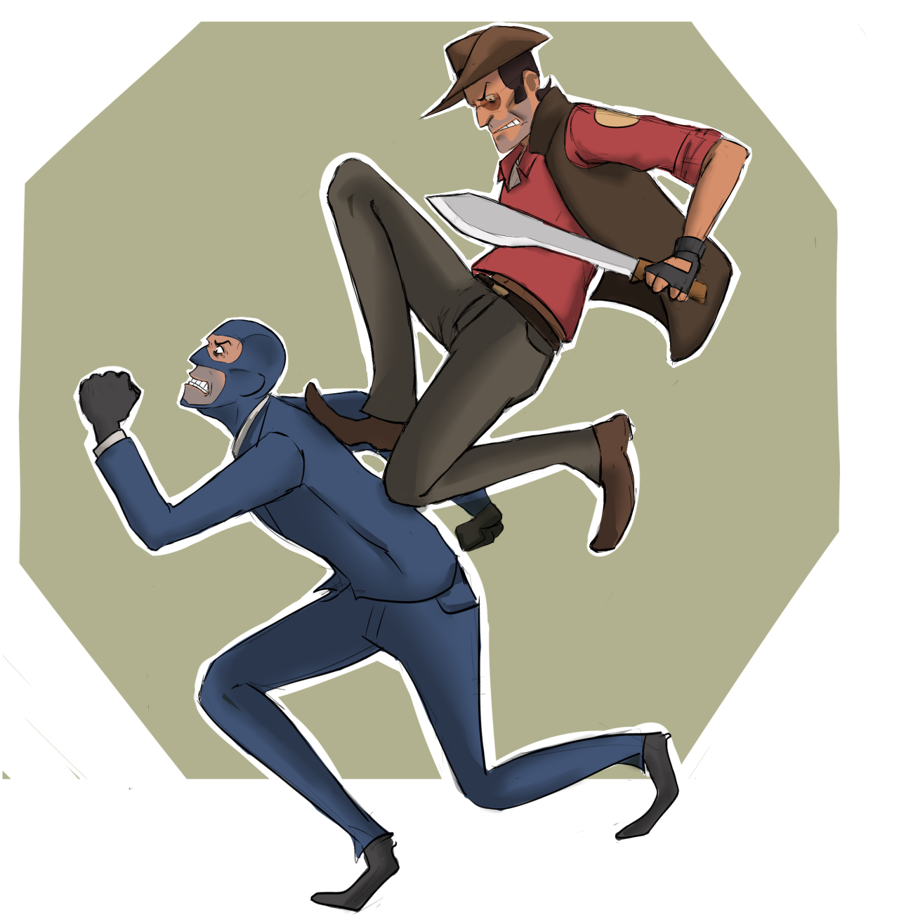 Tf2 Spy And Sniper Tumblr Team Fortress 2 Team Fortress Team Fortess 2