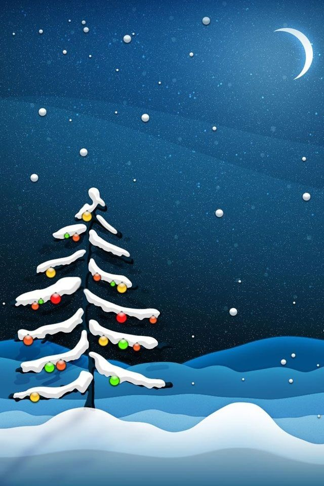 Christmas Art Backgrounds Iphone Smart Phone Htc