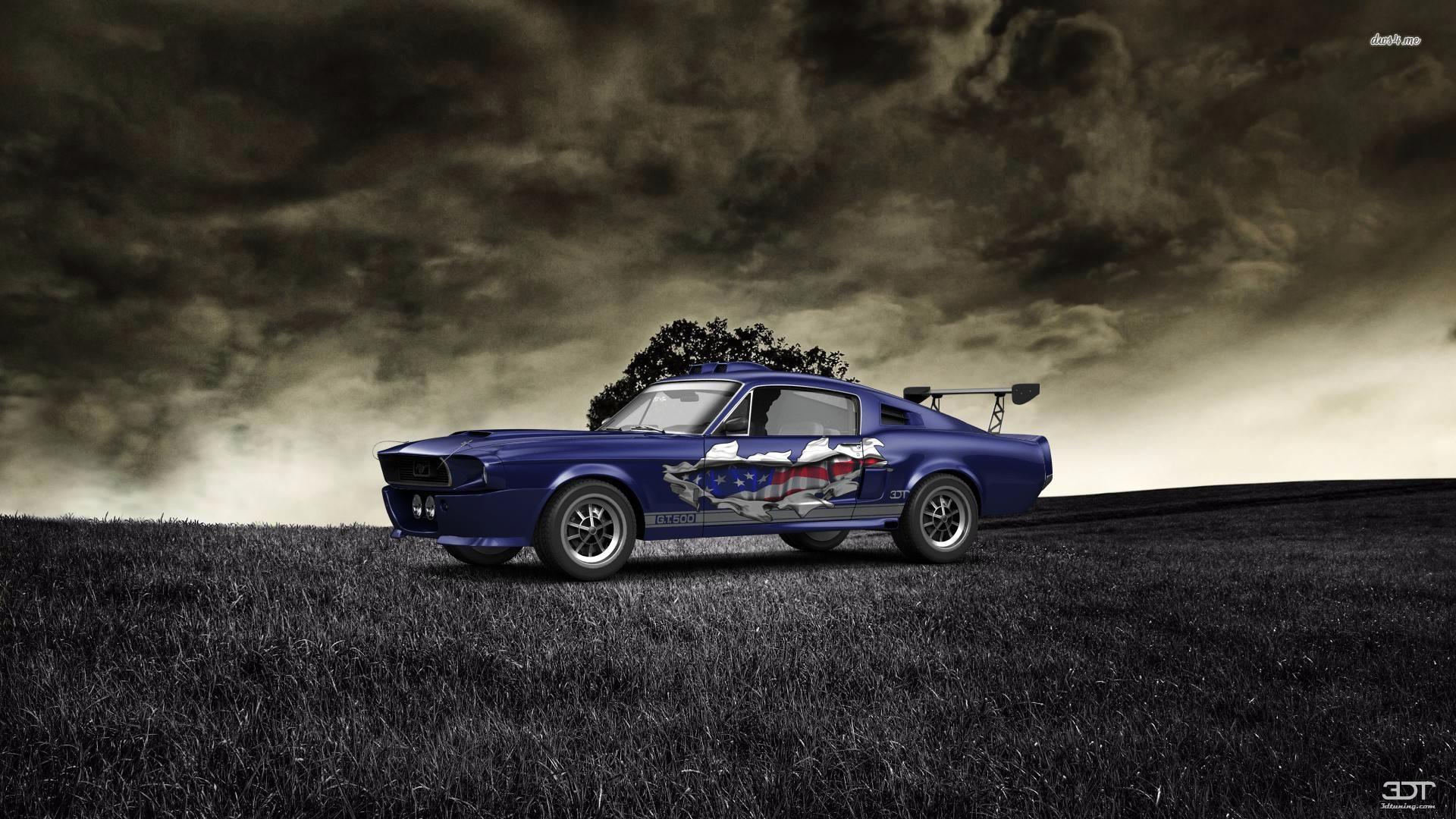 Checkout my tuning Mustang ShelbyGT500 1967 at 3DTuning 3dtuning
