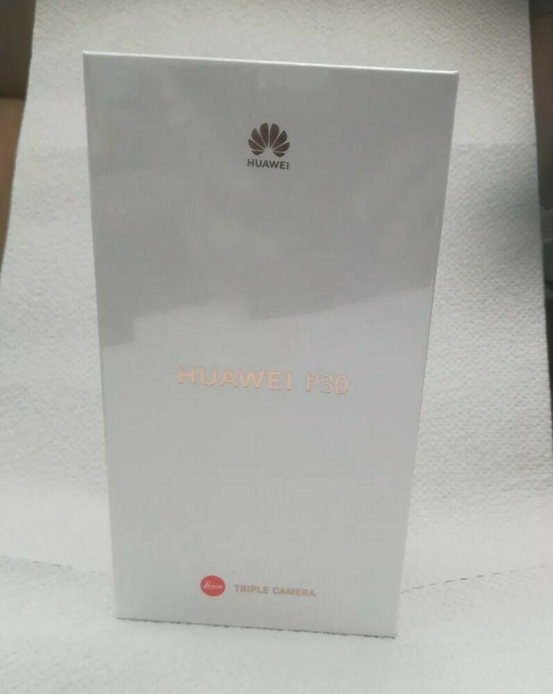 Huawei p30 smartphone 128gb neu black orgverpackt und