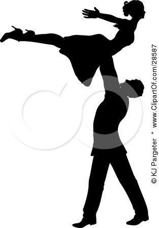 social svart dansa