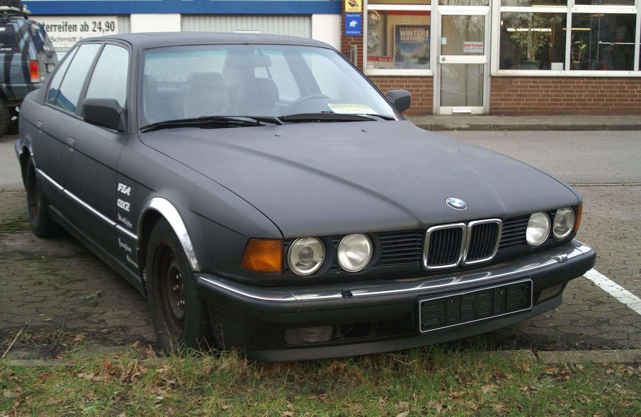 Bmw 735i E32 Bmw Bmw Car Photo