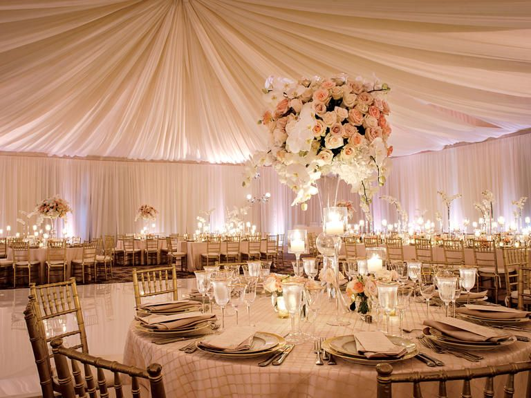 7 wedding reception hacks you need to know about wedding for Wedding venue decoration ideas pictures