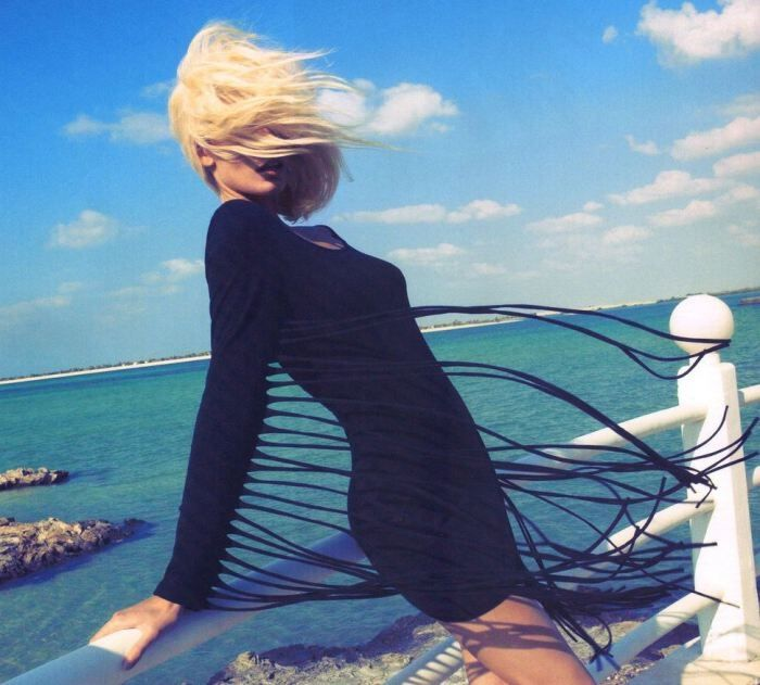 Edita Vilkeviciute by Camila Akrans for H Summer 2012
