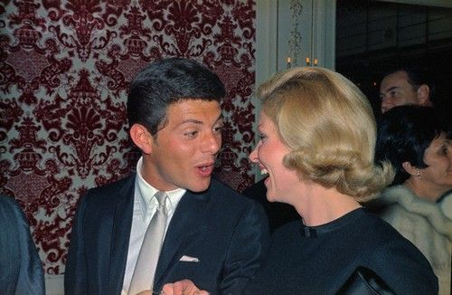 Frankie Avalon and Kay Diebel - He was a teenage heartthrob a long time before most of our moms were even old enough to know what that was. Frankie Avalon and his beautiful wife have been married more than 50 years, and they continue to look happy in all their photos.