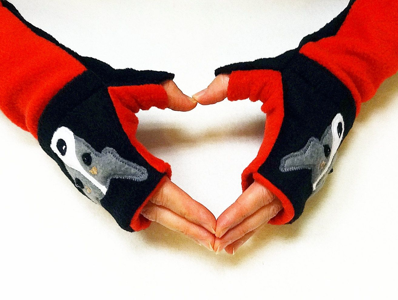 Fingerless Gloves with Pockets #Rat_Terrier #Toy_ Fox_Terrier Dog Lovers. $22.00, via Etsy.