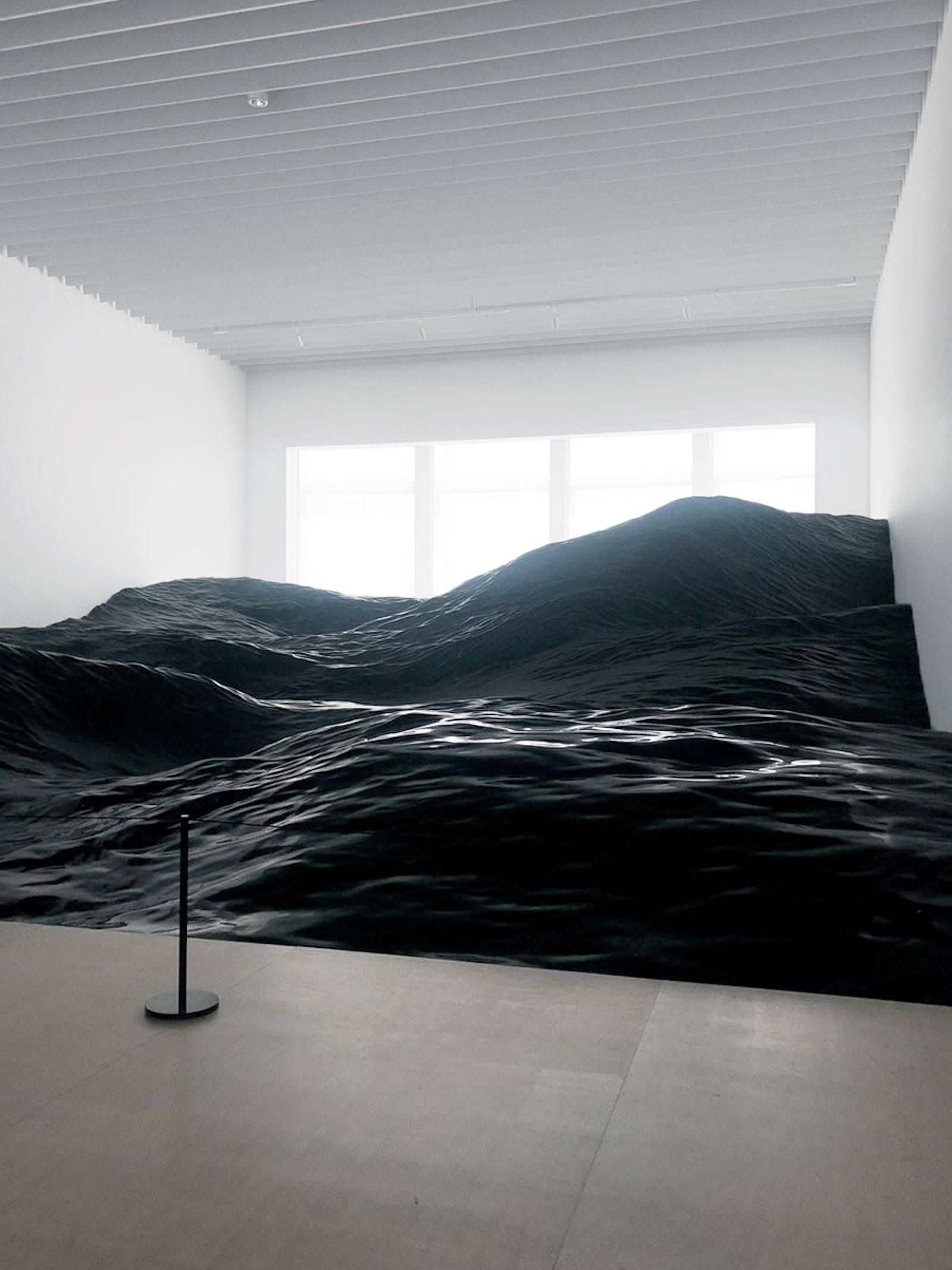 This Installation In Japan Mimics The Tumultuous Nature Of Ocean Waves - IGNANT