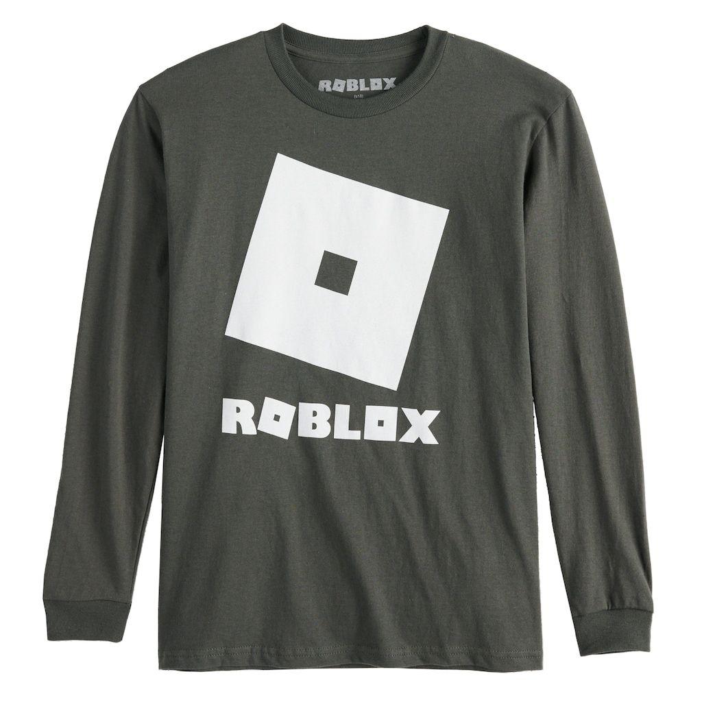 Boys 8 20 Roblox Logo Tee Logo Tees Long Sleeve Tshirt Men Tees [ 1024 x 1024 Pixel ]