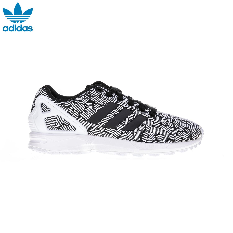 b61e3a5e618 ADIDAS – Γυναικεία παπούτσια ZX FLUX W ADIDAS άσπρα-μαύρα Γυναικεία/ Παπούτσια/Αθλητικά