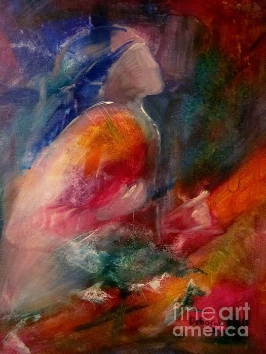 Pin by Deborah Nell Art on Inspirational Paintings | Spiritual painting, Christian abstract art, Prophetic painting