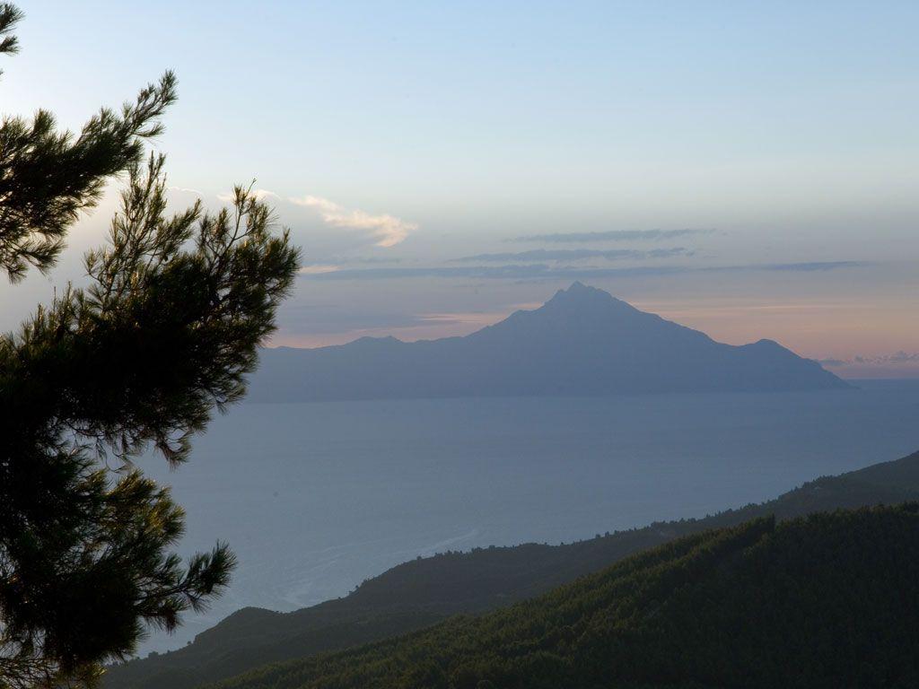 Mount Athos view from #Sithonia in #Halkidiki  http://apartments-panagi.com