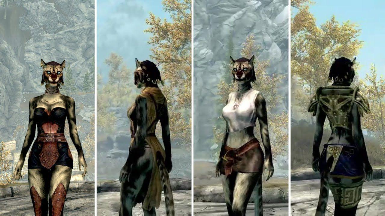 Favorite Skyrim Mods - Keo's Skimpy Outfits CBBE Curvy