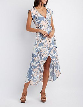 Maxi Dresses: Halter & Strapless Maxis | Charlotte Russe ...