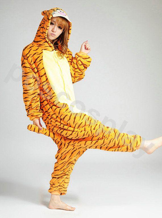 KIGURUMI Costume Animal Pajamas Pyjamas Onesie Adult by pokcosplay, $49.99 sooooo cute! i wish i had this for tomorrow...