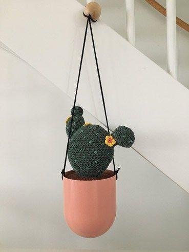 Haakpatroon Cactus Haken Cactus Crochet Cactus En Crochet Flowers
