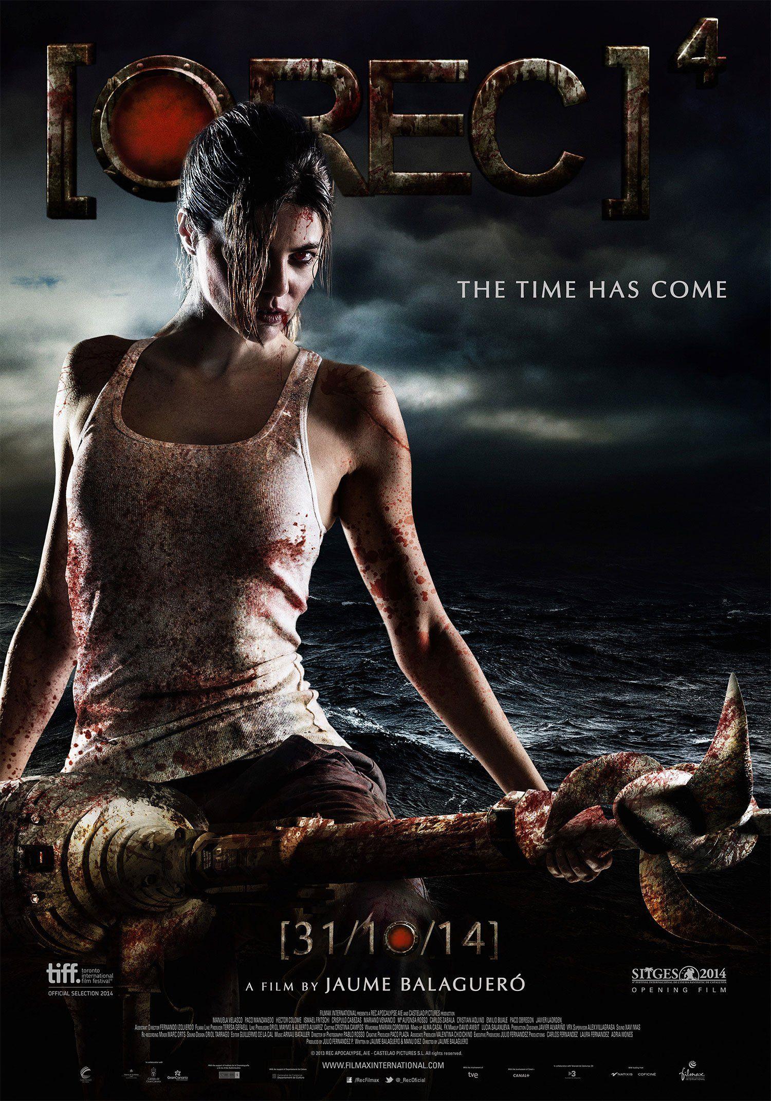 Rec 4 Apocalypse Movie Poster Reveal Apocalypse Movies Best Horror Movies Upcoming Horror Movies