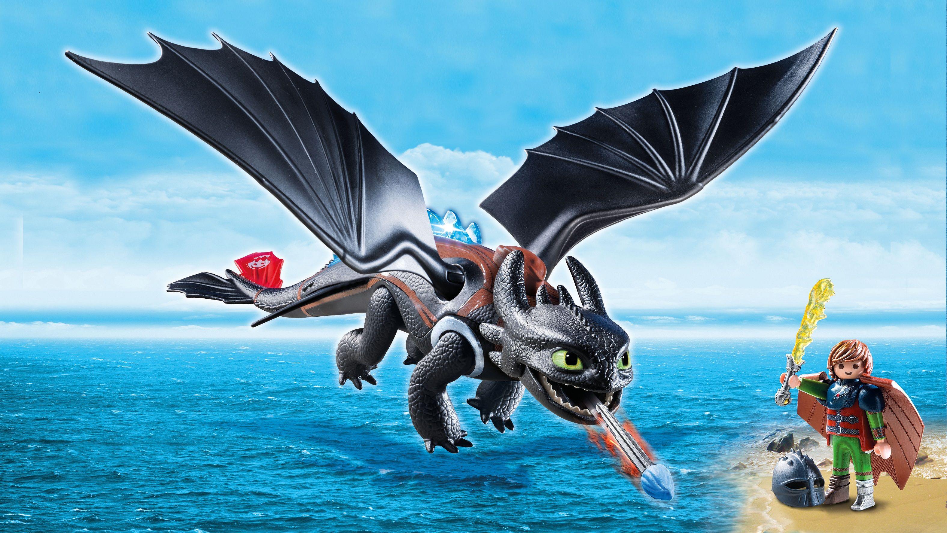 Playmobil Dragons Hicks Und Ohnezahn Hicks Und Ohnezahn Playmobil Dreamworks Dragons