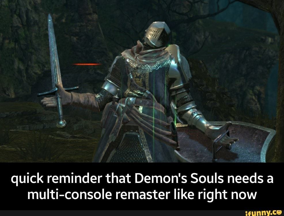 Demons souls remastered