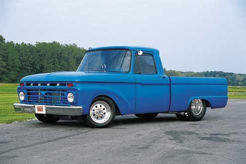 Check out http://61-66fordtrucks.com!  1961, 1962, 1963, 1964, 1965, and 1966 Ford Trucks. Dedicated to 61-66 Ford Trucks and the re-building of my 1965 F-100 Ford. Restoration. www.61-66fordtrucks.com