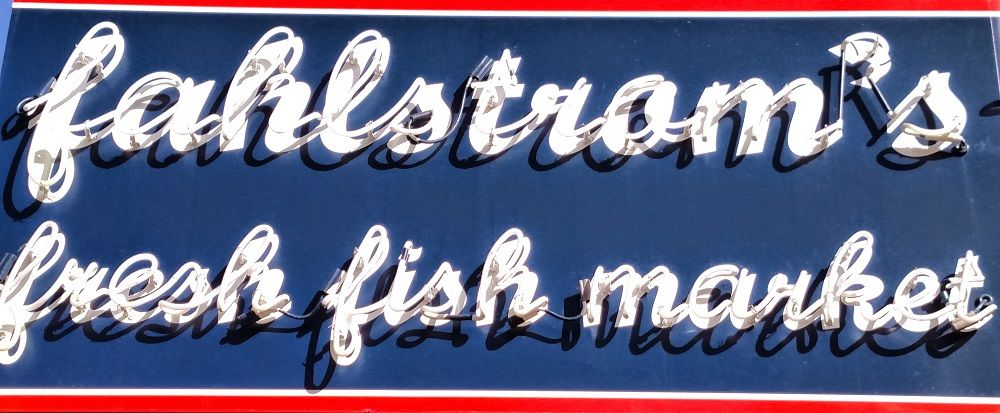 Fahlstrom S Fresh Fish Market Lakeview Chicago Fish Chicago Restaurants Marketing