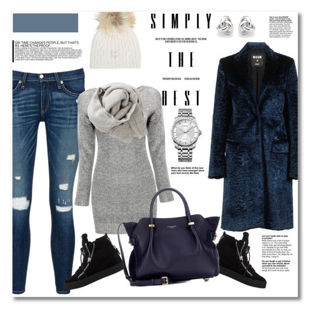 Look the day by vkmd on Polyvore featuring polyvore fashion style MSGM rag & bone/JEAN Giuseppe Zanotti Nina Ricci Calvin Klein Georgini M. Miller Brunello Cucinelli clothing GetTheLook