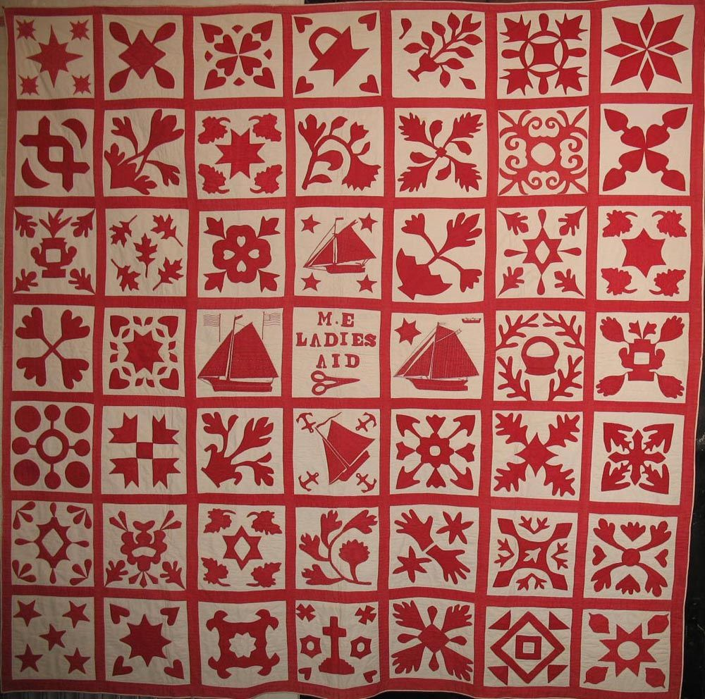 Red and White quilt from the NYC show at the Armory | Quilting ... : quilt nyc - Adamdwight.com