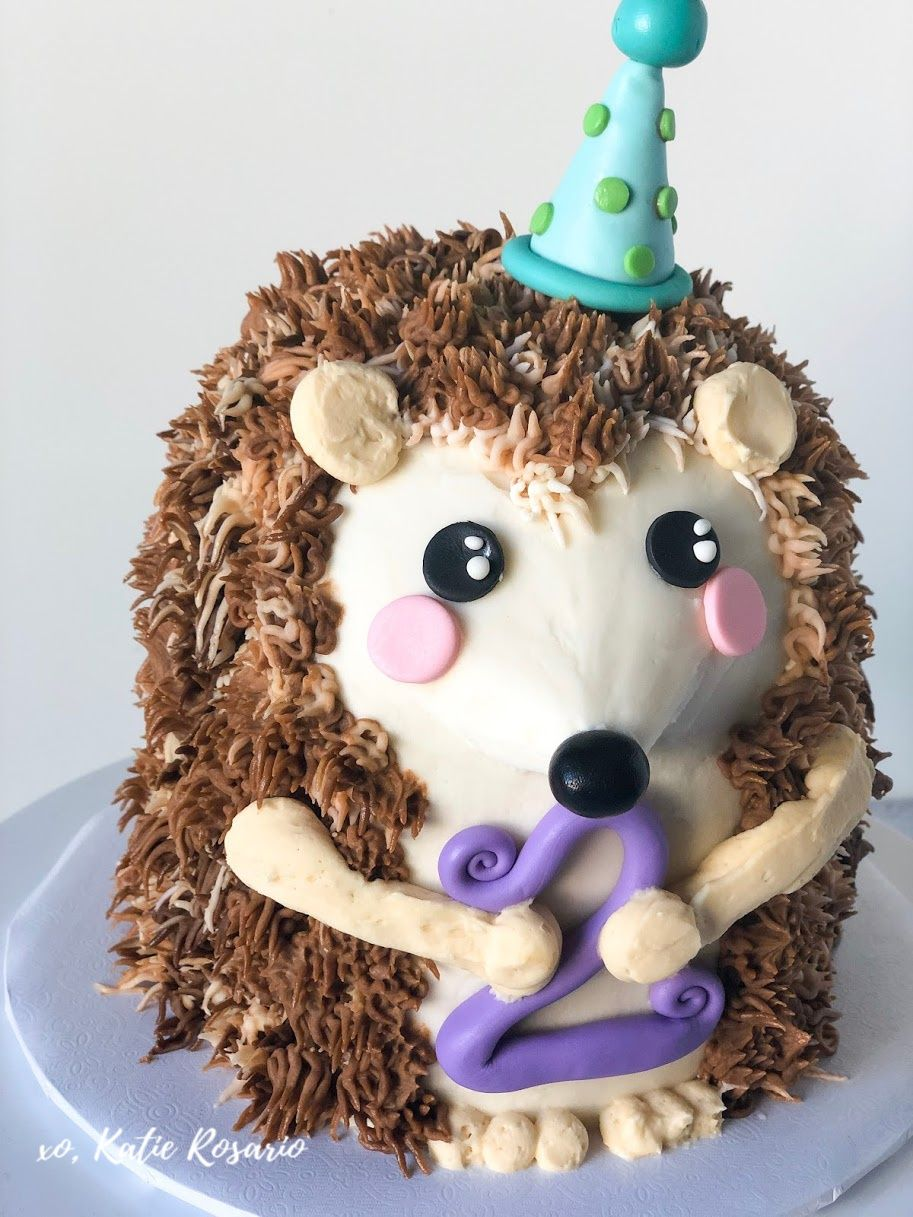 Excellent Hedgehog Birthday Cake Recipe In 2020 With Images Hedgehog Funny Birthday Cards Online Inifodamsfinfo