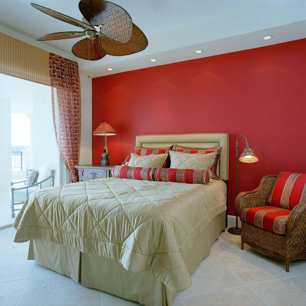 Resultado de imagem para quarto de casal vermelho