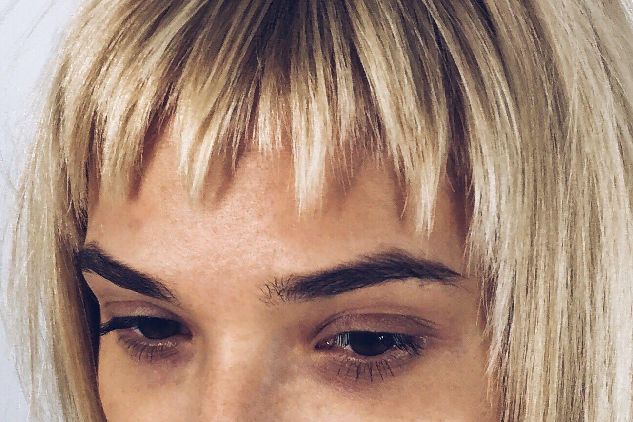 Zhenskaya Strizhka Sloyami S Primeneniem Diskonekcii Korotkaya Chelka Shorthairstyles Fransen Pony Frisur Haarschnitt Haarschnitt Lang