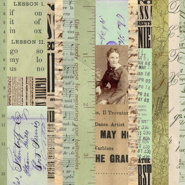 Paper Collage by Carin Andersson