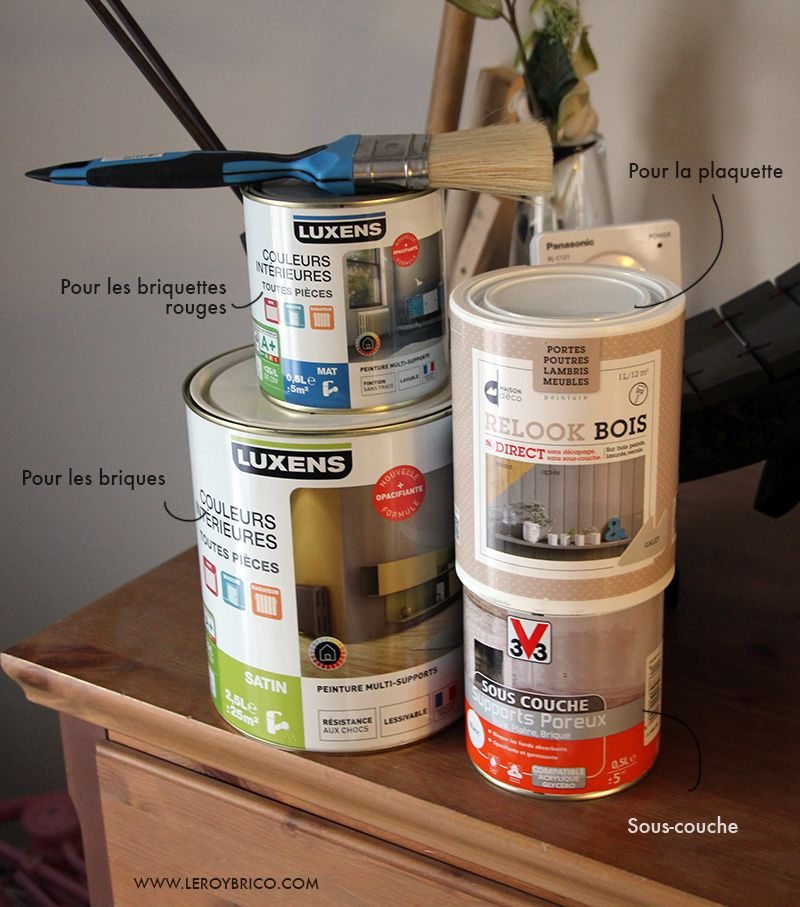 Peinture pour repeindre chemin e relooking cheminee - Peinture pour hotte de cheminee ...