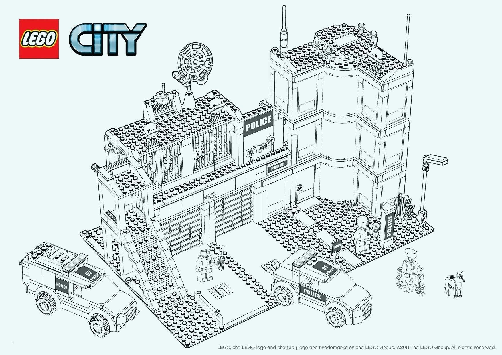 Lego City Coloring Pages New Ausmalbilder Lego City Lego Captain