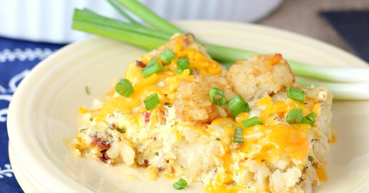 Chicken Ranch Tater Tot Casserole | Recipe in 2020 (With ...