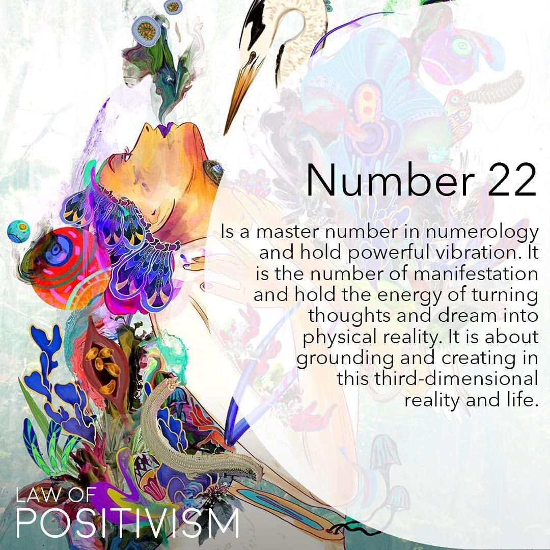 Number 22 is the number of the Spiritual Master Builder on