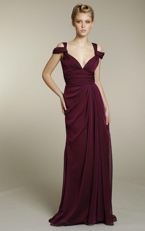 Long Chiffon Bridesmaid Dresses - Ocodea.com