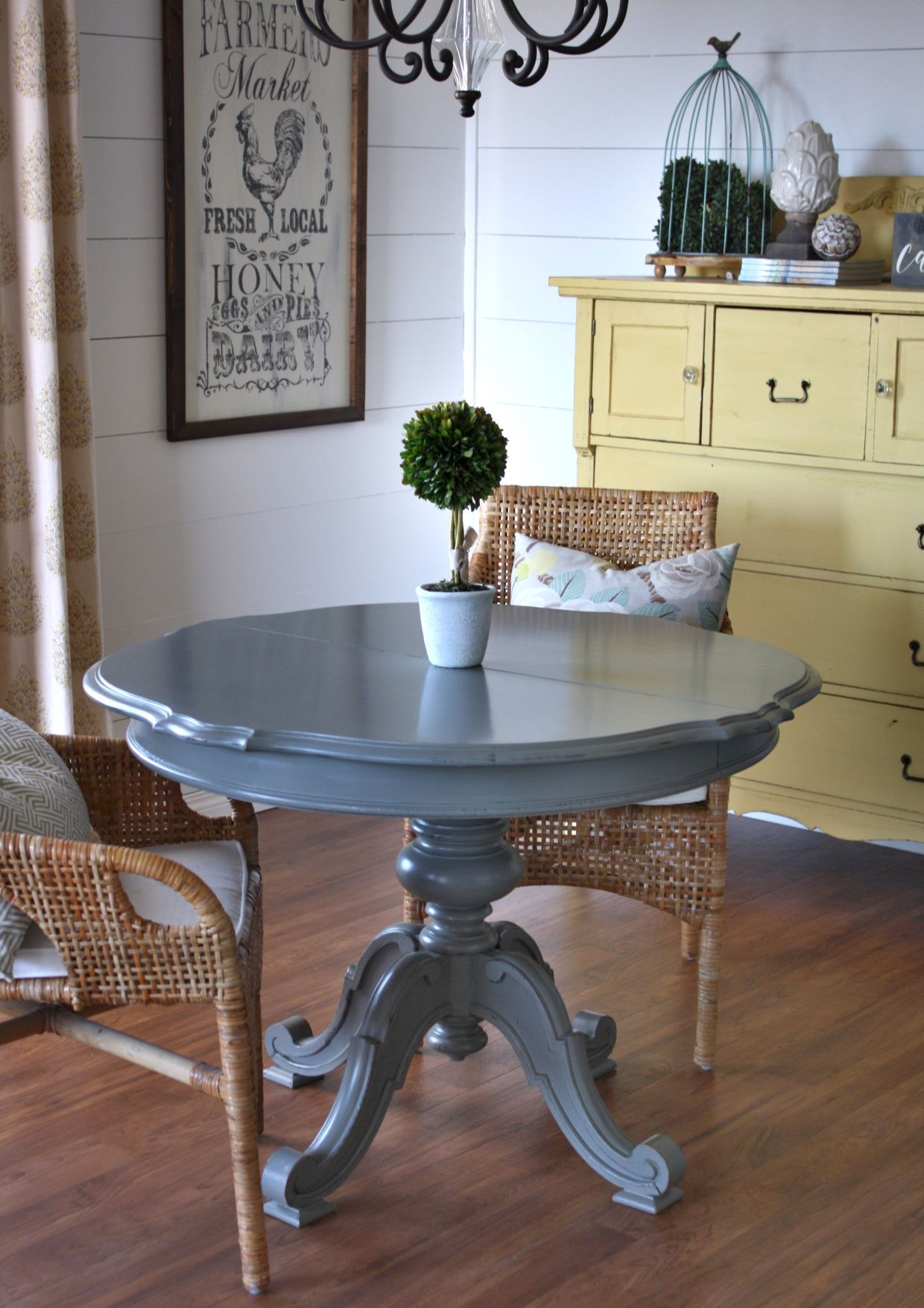 Creating A Durable Table Top Finish Country Chic Paint Blog Durable Table Painted Kitchen Tables Refinishing Kitchen Tables
