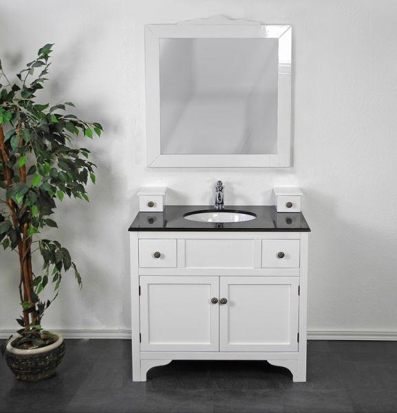 Waschtisch Antik Weiß